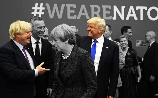 両国が黄色い髪のグーンによって支配されている今、英国と米国の関係は確実に急上昇するでしょう