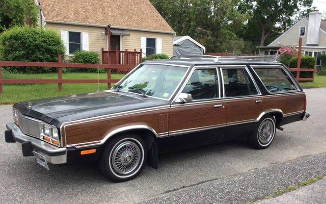2,750ドルで、この1979年のマーキュリーゼファーステーションワゴンを購入するために町に吹き込みますか?