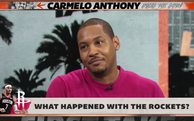 कार्मेलो एंथनी कहते हैं कि वह यह नहीं समझते कि रॉकेट उन्हें क्यों नहीं चाहते थे