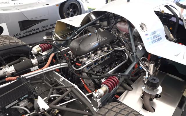 Aquí está toda la tecnología moderna escondida en un automóvil Sauber-Mercedes Le Mans 1989 de 800 HP