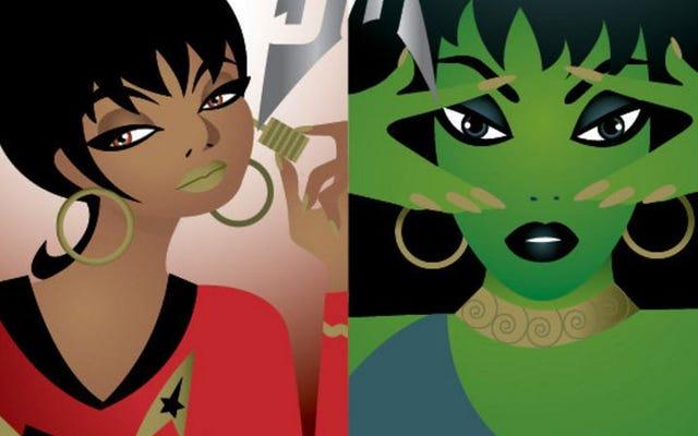 スタートレックをテーマにした化粧品の奇妙な新しい世界を探索するMAC