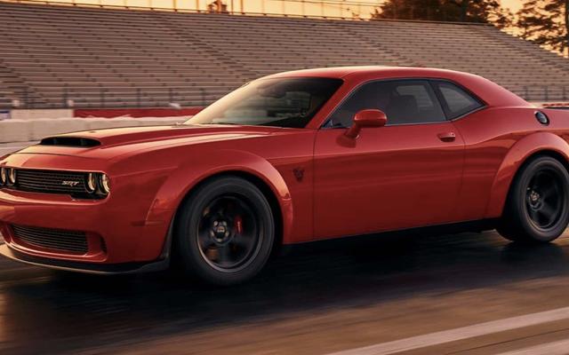 Dodge Challenger SRT Demon : c'est apparemment ça