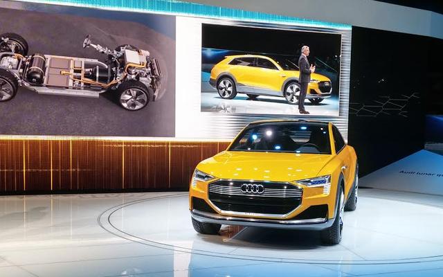 L'Audi H-Tron Quattro Concept veut que vous oubliiez tout du diesel avec de l'hydrogène doux et propre