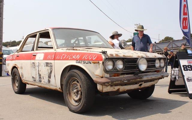 Ecco come appare una Datsun 510 dopo la Baja 1000