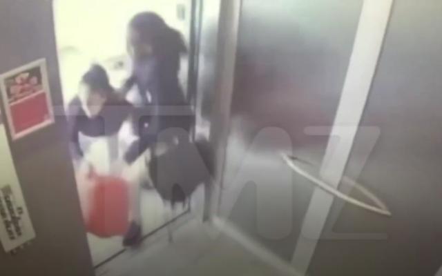 新しく浮上したエレベーターの映像は、解散前に交代でラッパーのサウィーティーとクエヴォを示しています