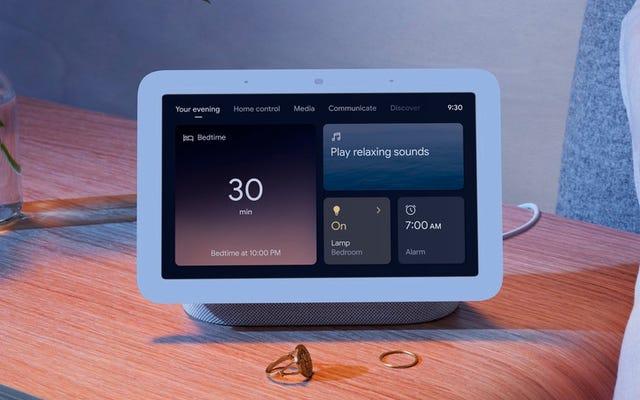 Trung tâm Nest mới của Google Theo dõi giấc ngủ của bạn từ tủ đầu giường, không cần thiết bị đeo