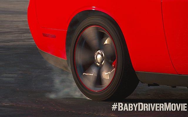 Comment les stars de Baby Driver ont appris à faire de très vraies cascades de voiture