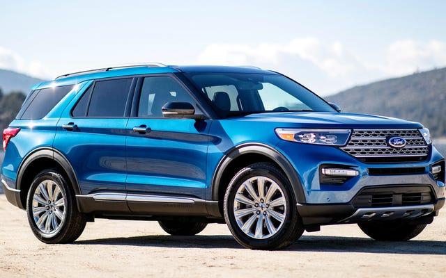 Voici exactement combien le prix du Ford Explorer 2020 augmentera