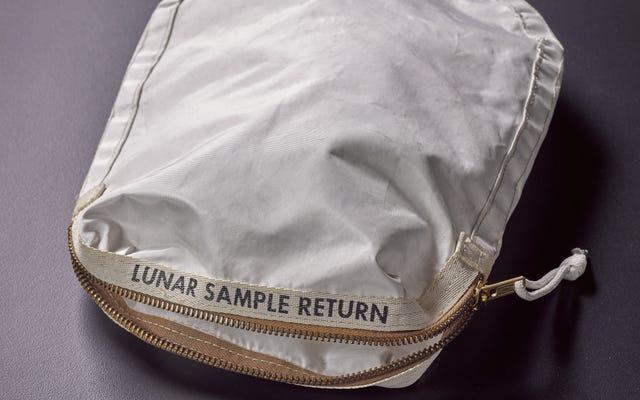 アポロ11ミッションから破れたバッグは、NASAに対して最もばかげた訴訟を引き起こします
