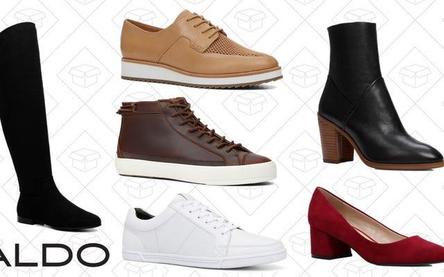 Aldoの50%オフセールであなたが知っているよりも多くの靴を持って立ち去る