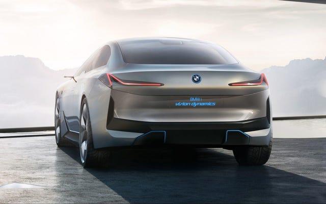 แผนไฟฟ้าของ BMW คือการครอบงำแบบครอสโอเวอร์