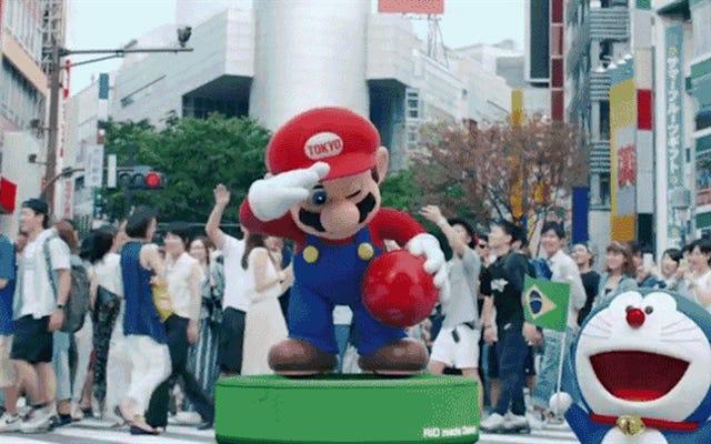 日本の首相のマリオコスプレに感銘を受けていないビートたけし