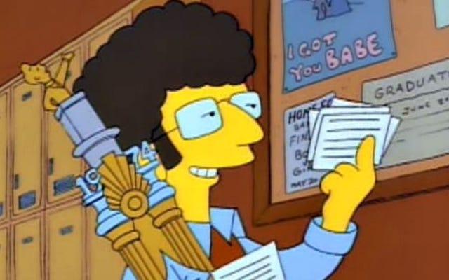 """""""व्यस्त हाथ"""" जिसने मार्ज और होमर सिम्पसन को लगभग अलग कर दिया"""