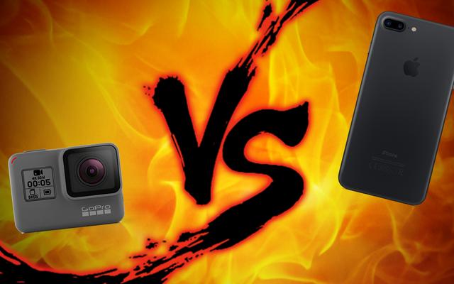 アクションカメラの対決:GoProとスマートフォン