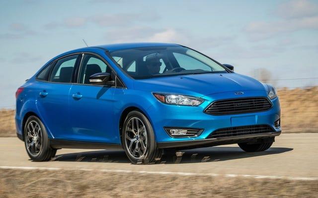 Sono rimaste solo 12.000 berline Ford Focus rimaste in vendita negli Stati Uniti: rapporto
