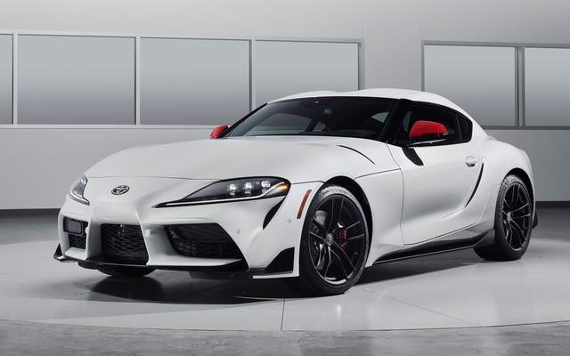 2020 Toyota Supra, EPA Derecesine Sahip 26 MPG Kombine Edildi