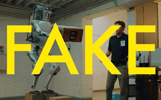 Ese video viral de un levantamiento de robots es falso porque lo real será mucho más mortal