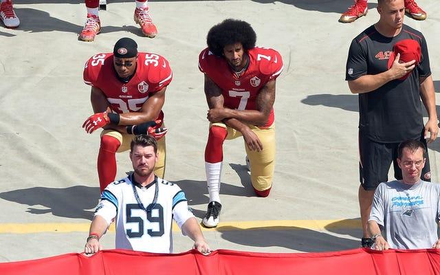 La NFL sigue a Trump hasta el abismo, primero con Kaepernick y luego con COVID