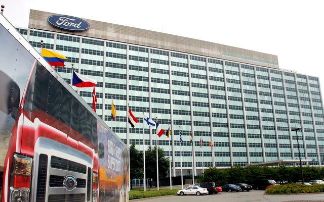 Le gouvernement fédéral met fin à l'enquête criminelle de Ford sur les émissions