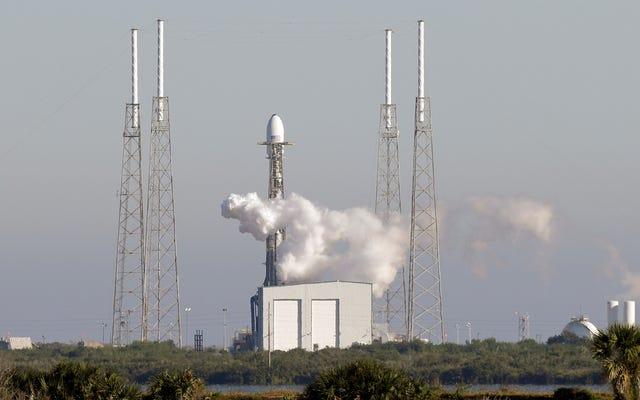 SpaceX conclut 2018 avec le premier lancement de la sécurité nationale pour le gouvernement américain