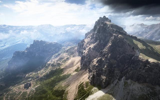 La communauté Battlefield 1 est déchirée sur une montagne