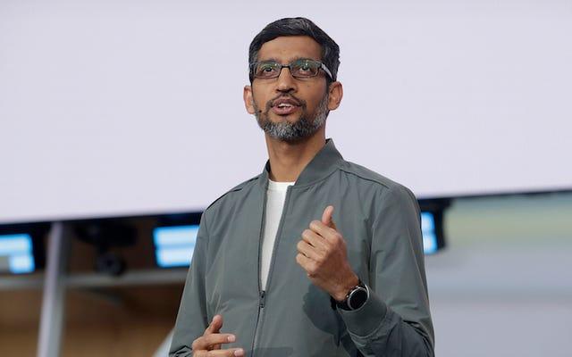 Sundar Pichai recevra une augmentation de 240 millions de dollars pour être le PDG d'Alphabet