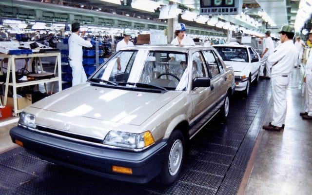 Pabrik Besar Honda di Ohio Naik Saat General Motors Jatuh