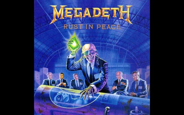 Человечество все еще создает новое искусство, хотя «Rust In Peace» от Megadeth уже не существует