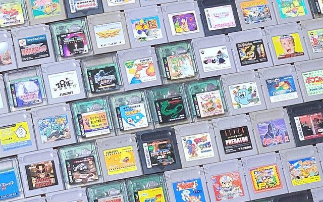 W ciągu zaledwie dwóch lat fan Nintendo uzupełnia kolekcję Game Boy