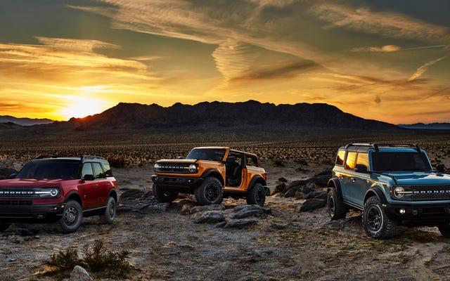 Sera-t-il possible d'acheter un nouveau Bronco et de le revendre avec une perte minimale?