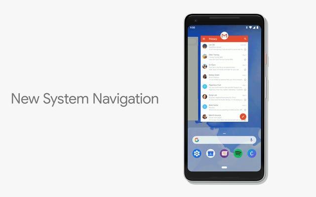 AndroidPの紛らわしい新しいジェスチャーコントロールの使用方法
