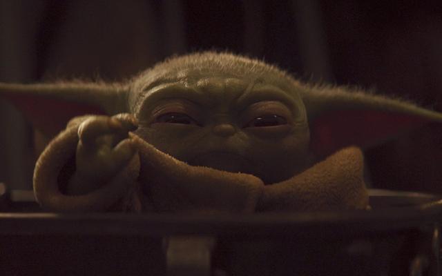 Beberapa Pendukung Trump Menggunakan Baby Yoda (of All Things) untuk Mempromosikan MAGA