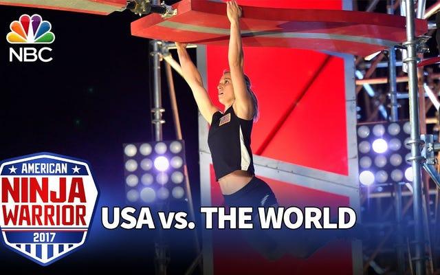 Menonton Jessie Graff Memecahkan Rekor Prajurit Ninja Amerika Lainnya Akan Membuat Anda Emosional