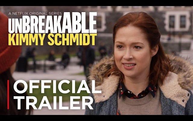 Кимми учится в колледже в трейлере третьего сезона сериала `` Несокрушимая Кимми Шмидт ''