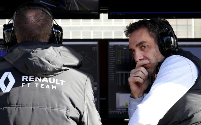 Le patron de Renault F1 Cyril Abiteboul ne dirigera pas l'équipe alpine rebaptisée