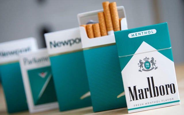 Les défenseurs de la santé des Noirs veulent que le gouvernement américain s'attaque aux menthols aussi durement qu'aux autres tabacs aromatisés