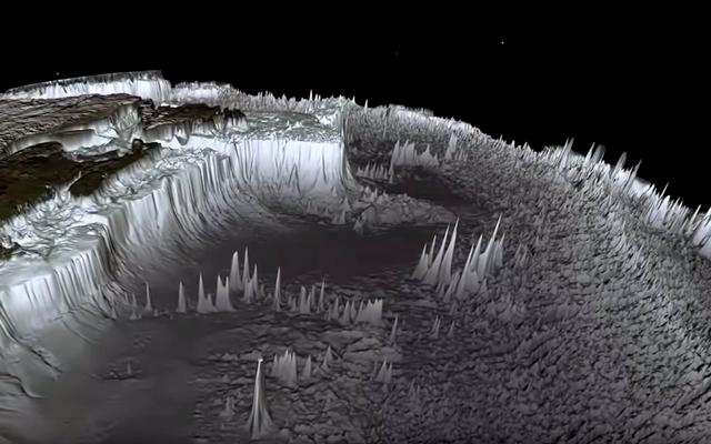 水なしの地球の本当の外観は、これらのウイルス画像とは何の関係もありません