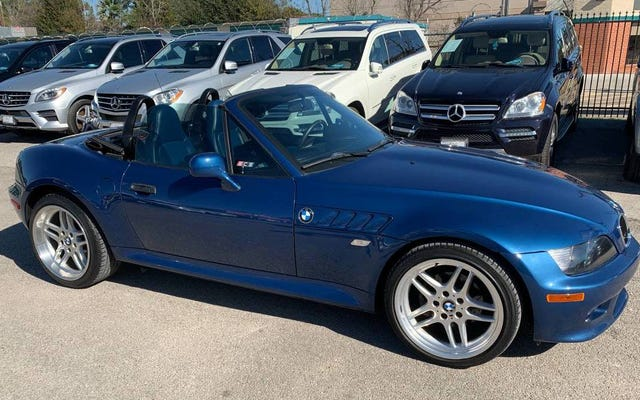 ด้วยราคา 11,999 เหรียญคุณจะรู้สึกถึงสีฟ้าของ Topaz 2000 BMW Z3 M-Sport Roadster หรือไม่?