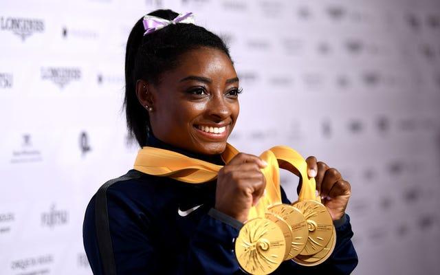 シモーネ・バイルズは公式に史上最高の体操選手です