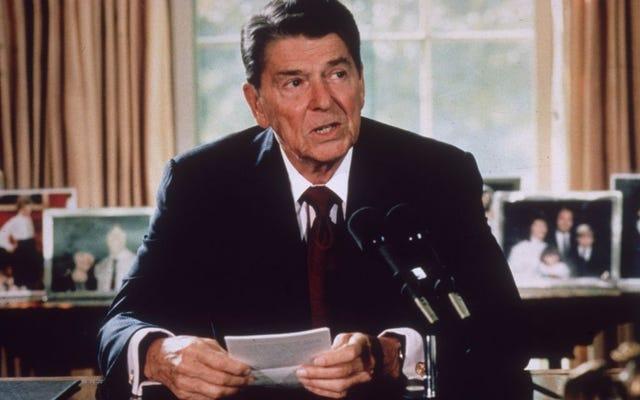 驚き!最愛のロナルド・レーガン大統領は人種差別主義者でした:当時のニクソン大統領への発掘された呼びかけはそれを証明します
