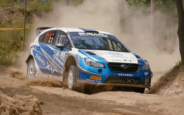 Este Subaru Crosstrek Rally Car es un WRX STI de un universo paralelo
