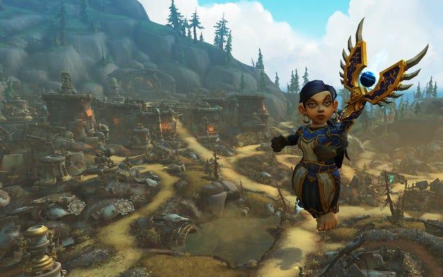El nuevo país de las maravillas de los gnomos cibernéticos de World Of Warcraft es el mejor lugar de Azeroth