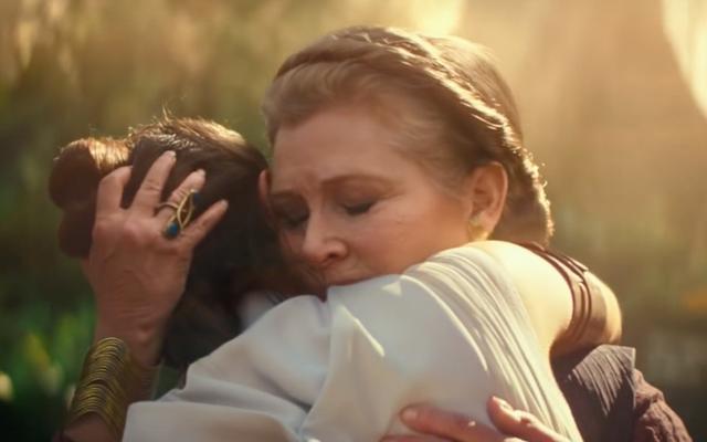 JJ Abrams parla di come vivono il generale Leia e Carrie Fisher in The Rise of Skywalker