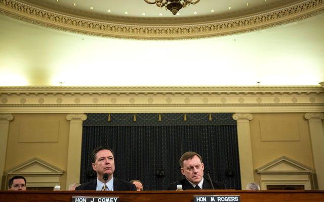 ジェームズ・コミー:トランプは嘘つきであり、はい、私たちはロシアの関係を調べています(私は少し言い換えています)