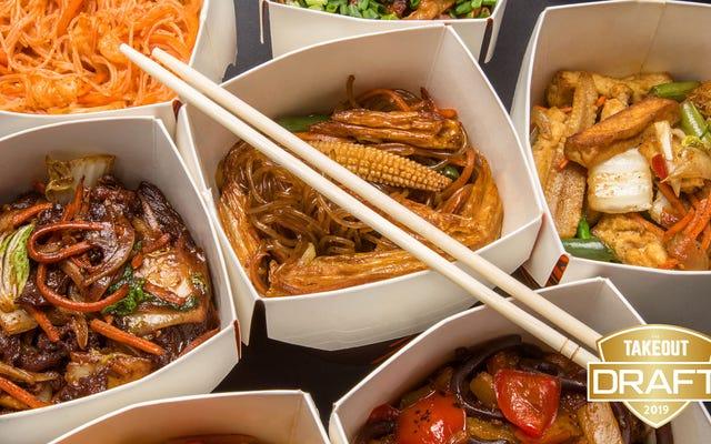 Takeout'un fantastik yemek taslağı: en iyi Çin-Amerikan yemeği