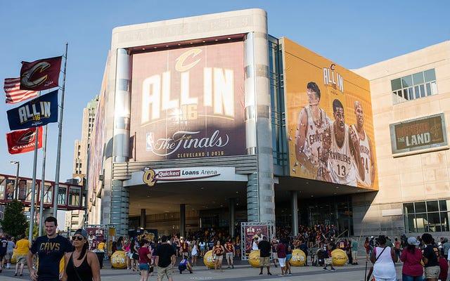 Cavaliers Menyerah Mencoba Membuat Cleveland Membayar Untuk Renovasi Arena