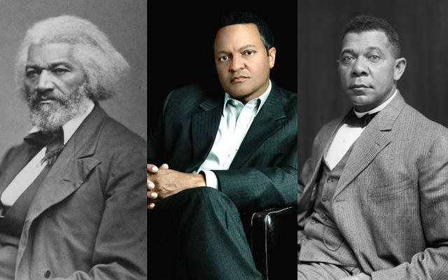 Viviendo con la historia: Frederick Douglass, Booker T. Washington El heredero vio la carga y la belleza de los legados de sus antepasados