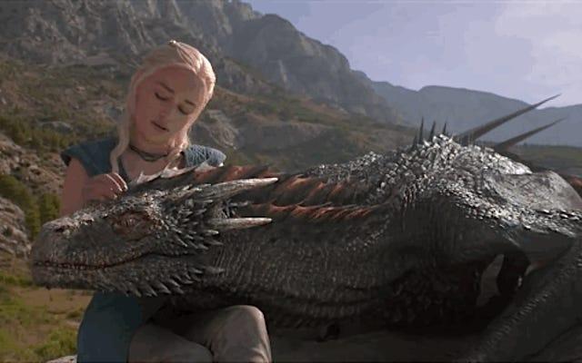 Ce sont les effets qui donnent vie aux dragons de Game of Thrones