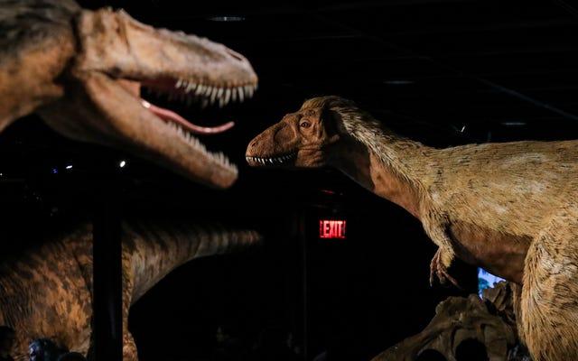 25億ティラノサウルスが地球を歩き回った可能性がある