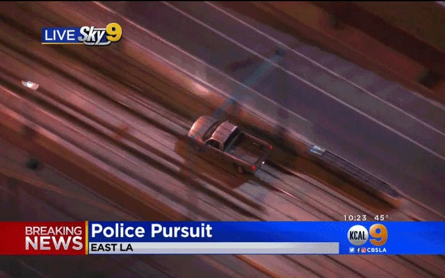 Maniac Play Real-Life GTA V, Duck Cops by Hopping Truck Onto Metro Rail Line & Driving Underground